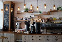 coffee shop image