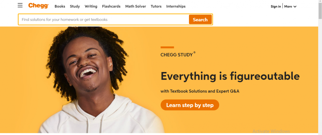 Features of chegg