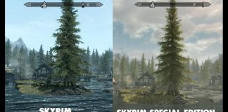 differnce between skyrim and skyrim special edition