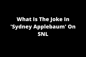 Sydney Applebaum