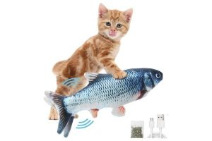 Flopping Fish Cat Toys